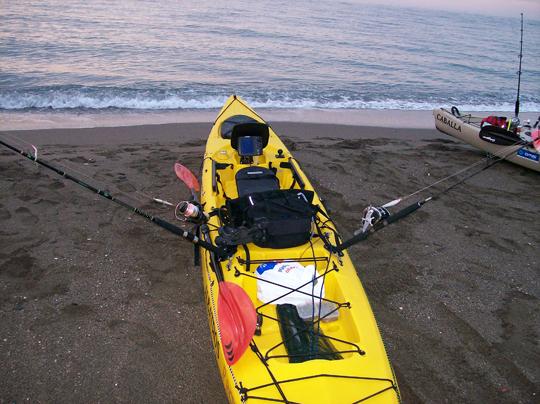 El kayak de Albatros