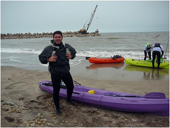 ProCaster previo al ingreso al mar sábado por la mañana