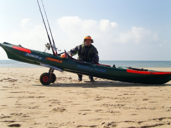 Raspacejo y su kayak