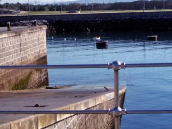 Foto de archivo de la rampa
